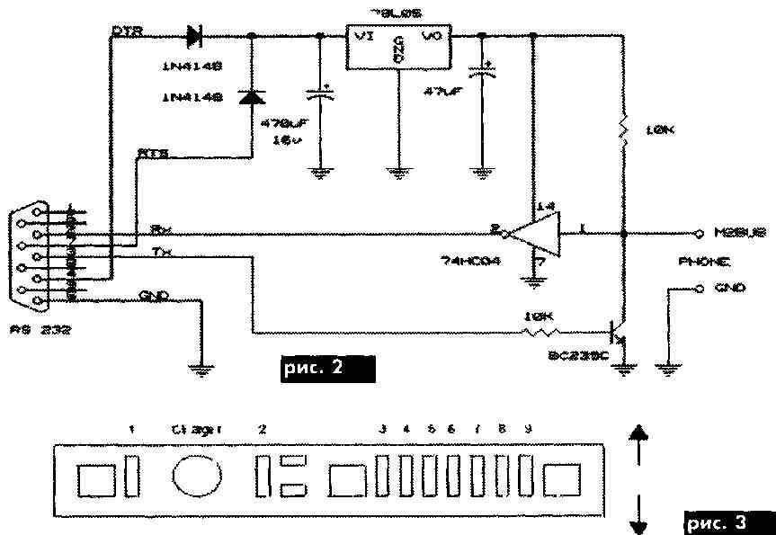 Внешний источник заряда +8,2 В, 0,8 А. Вход микрофона 80 мВт, 1 В. Назначение.