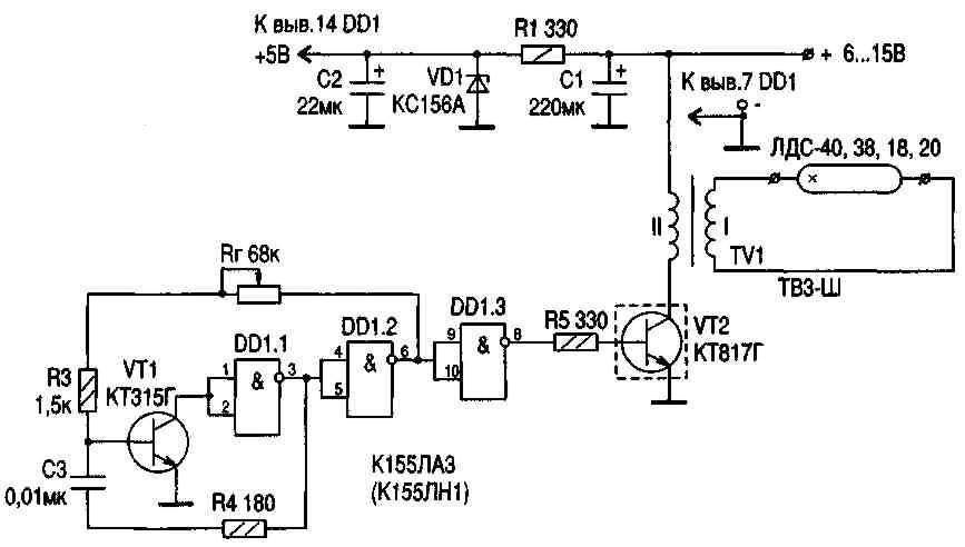 Силовые трансформаторы ламповых телевизоров
