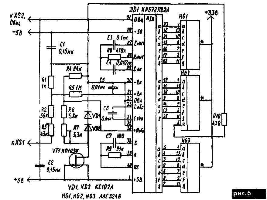 При всем этом врубается тиристор VS1 и зажигается светодиод HL1, индицирующий перегрузку.  В одно и тоже время база...
